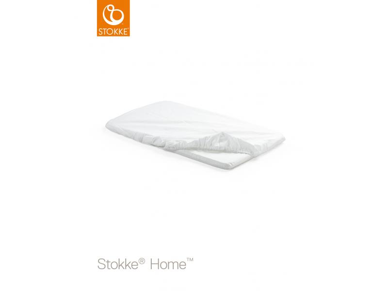 Prostěradlo na matraci do kolébky Home™, White 2ks 1