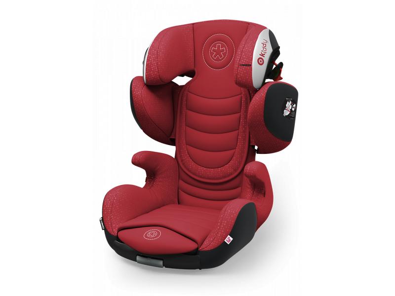 Kiddy Autosedačka Cruiserfix 3 2017 071 Ruby Red