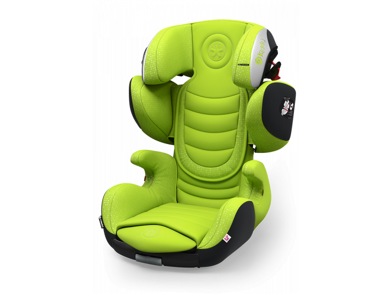 Kiddy Autosedačka Cruiserfix 3 2017 097 Lime Green