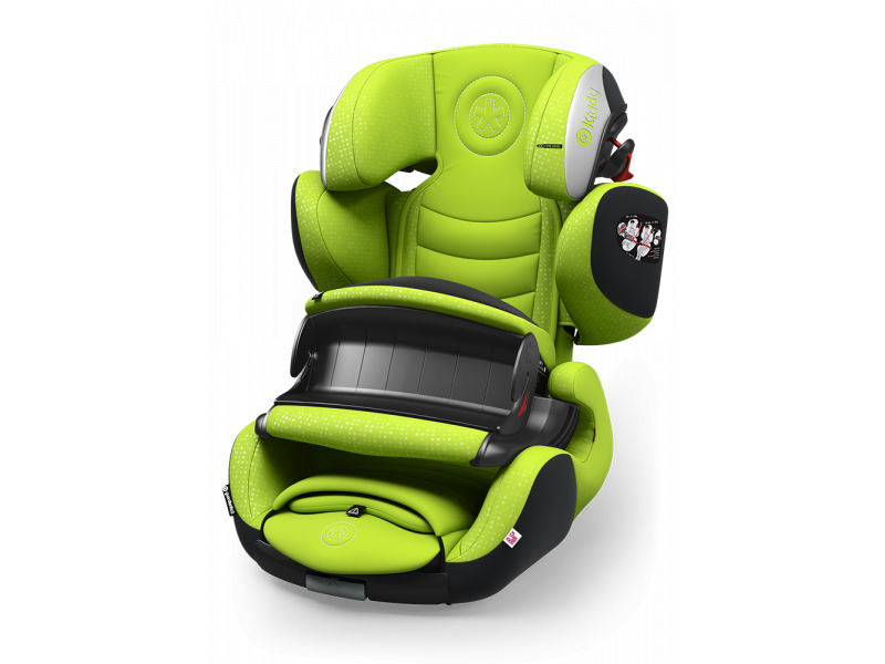 Kiddy Autosedačka Guardianfix 3 2017 097 Lime Green