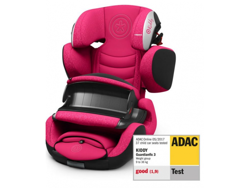 Kiddy Autosedačka Guardianfix 3 2019 Rubin Pink