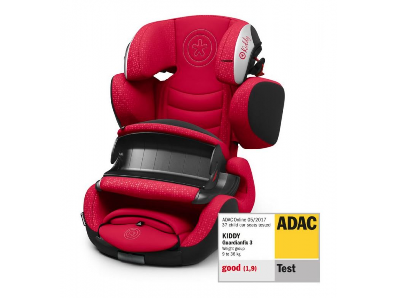 Kiddy Autosedačka Guardianfix 3 2019 Candy Red
