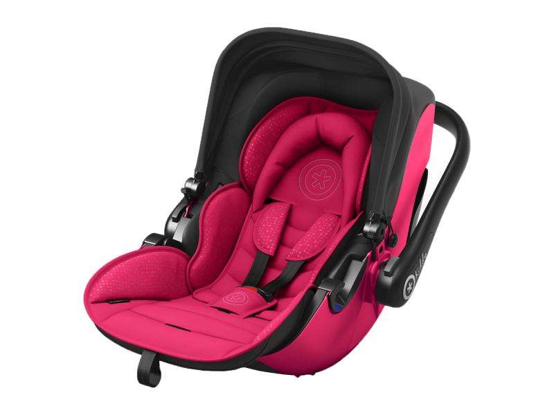 Kiddy Autosedačka Evolution pro 2 2018 Berry Pink