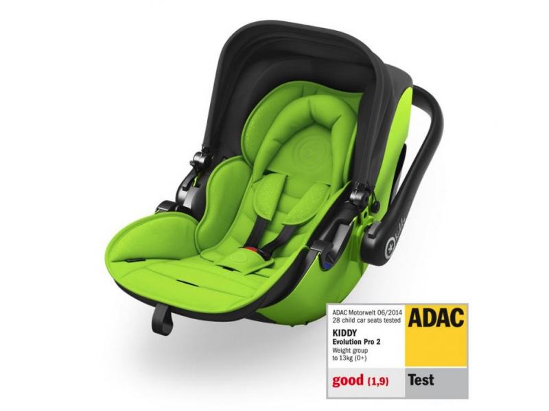 Kiddy Autosedačka Evolution pro 2 2019 Lizard Green