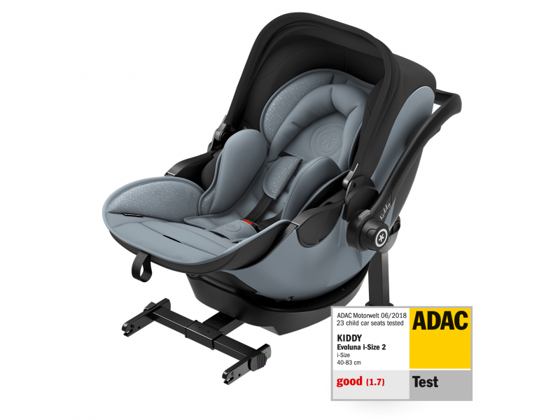 Kiddy Autosedačka Evoluna i-size 2 Polar Grey