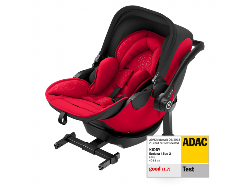 Kiddy Autosedačka Evoluna i-size 2 Chili Red