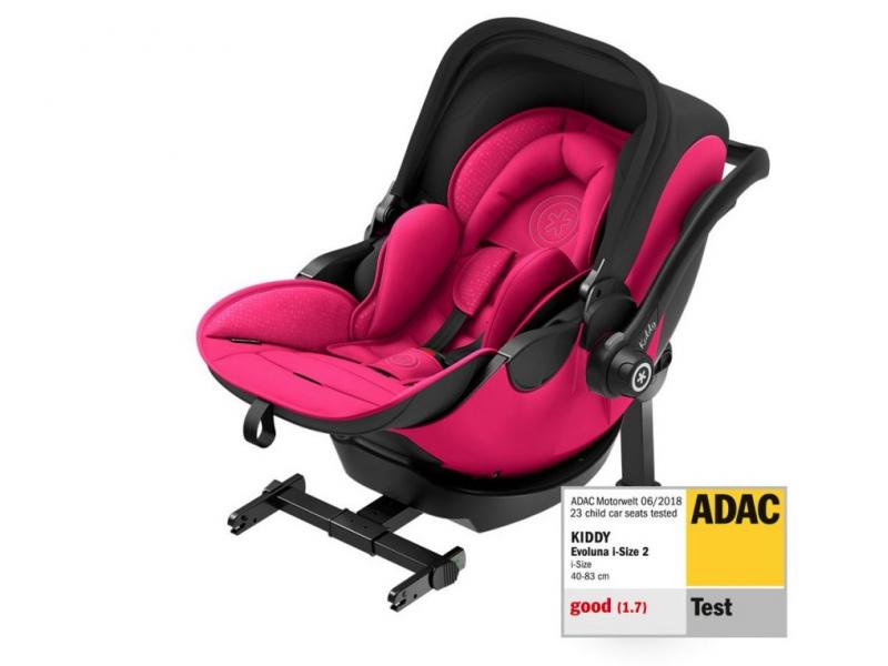 Kiddy Kiddy Evoluna i-size 2 2019 Rubin Pink