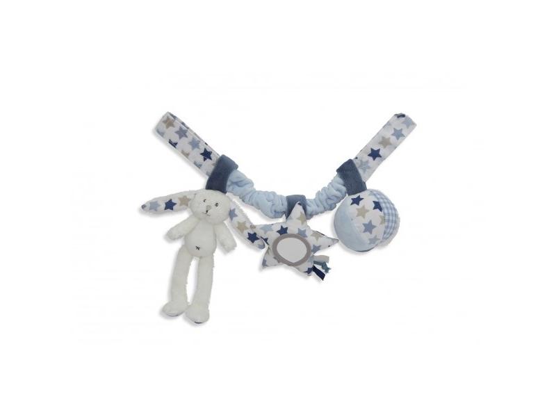 Tiamo řetěz zajíčci bílá/modrá