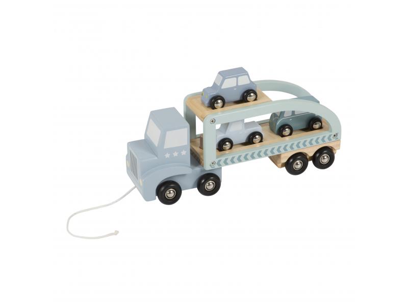 Dřevěný náklaďák 1
