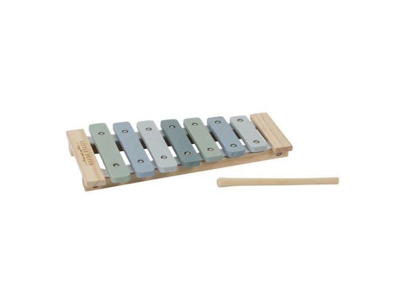 Dřevěný xylofon blue 1