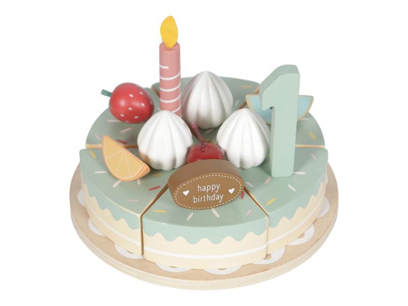 Dřevěný dort 1