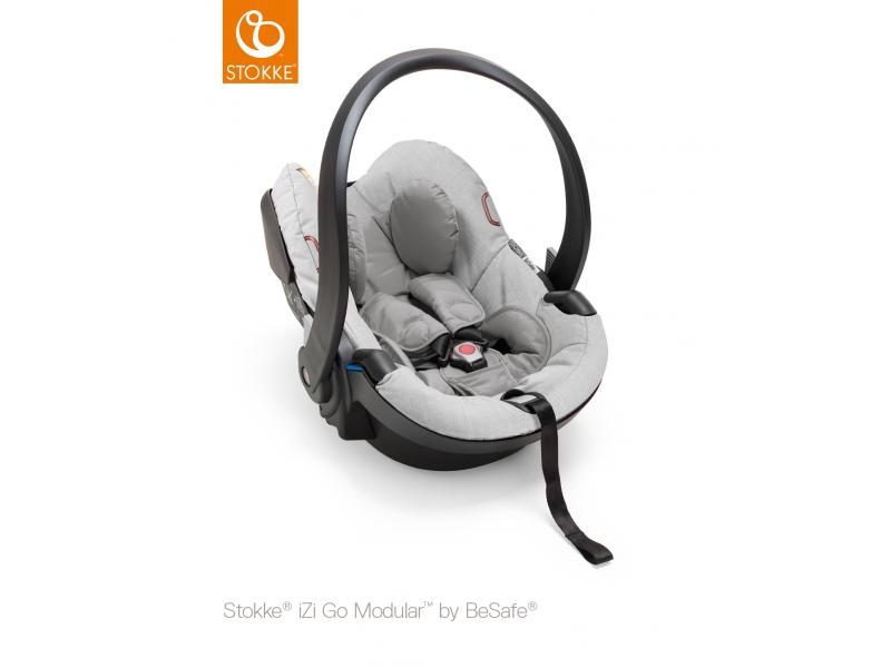 Stokke Autosedačka iZiGo™ Modular™ by BeSafe®, Grey Melange