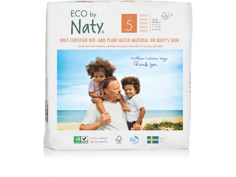 Naty Plenky Naty 5 Junior 11 - 25 kg (22 ks) - NOVÉ BALENÍ