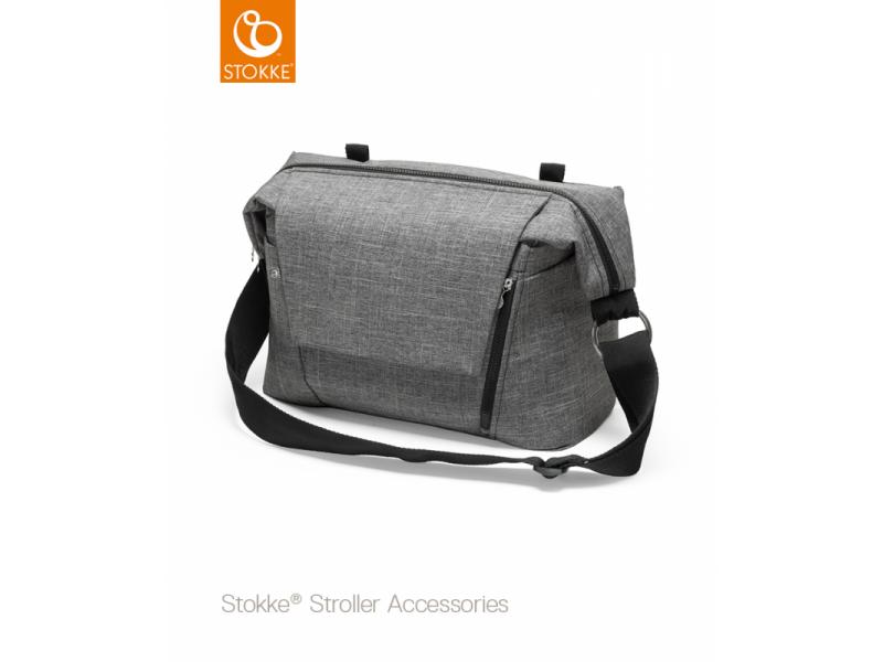 Přebalovací taška, Black Melange 1