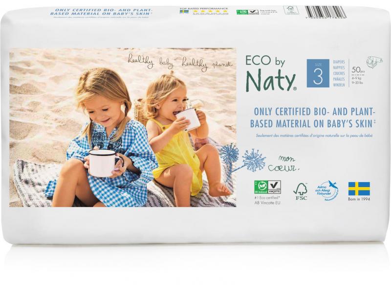 Naty Plenky Naty Midi 4 - 9 kg - ECONOMY PACK (50 ks)