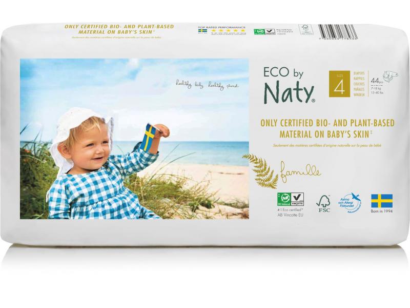 Naty Plenky Naty Maxi 7 - 18 kg - ECONOMY PACK (44 ks)