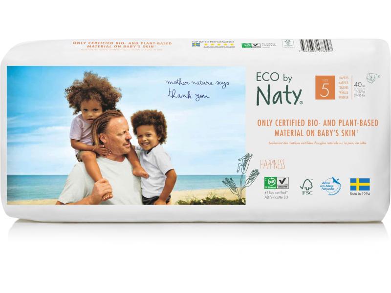 Naty Plenky Naty Junior 11 - 25 kg - ECONOMY PACK (40 ks)