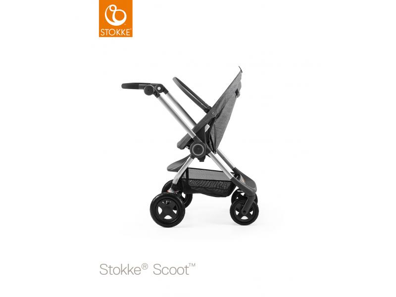 Stokke Podvozek a sedák Scoot™, Black Melange