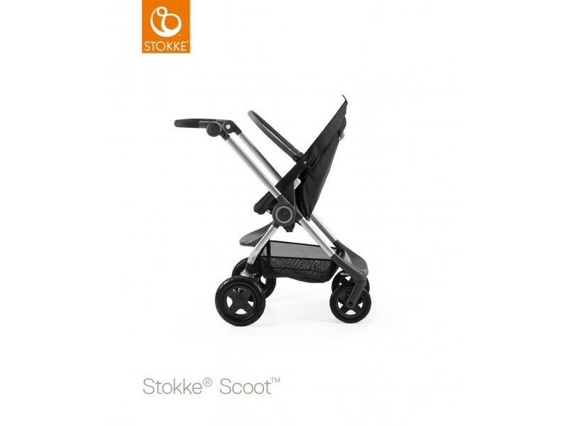 Stokke Podvozek a sedák Scoot™, Black