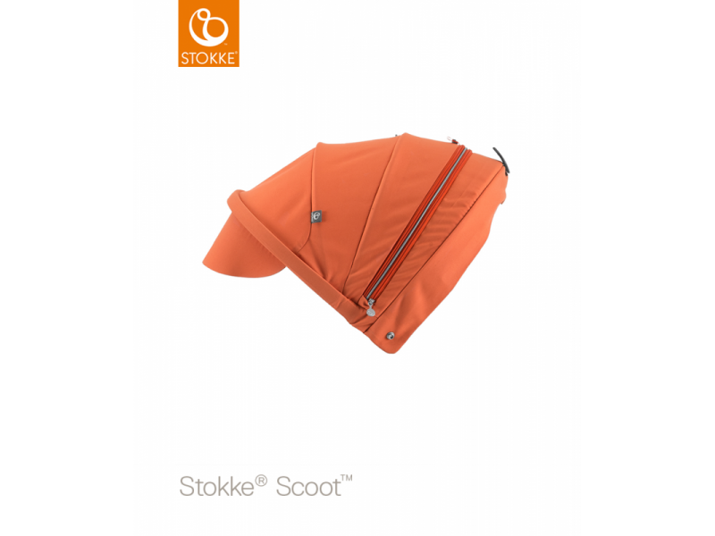 Stokke Stříška na kočárek a korbu Scoot™, Orange