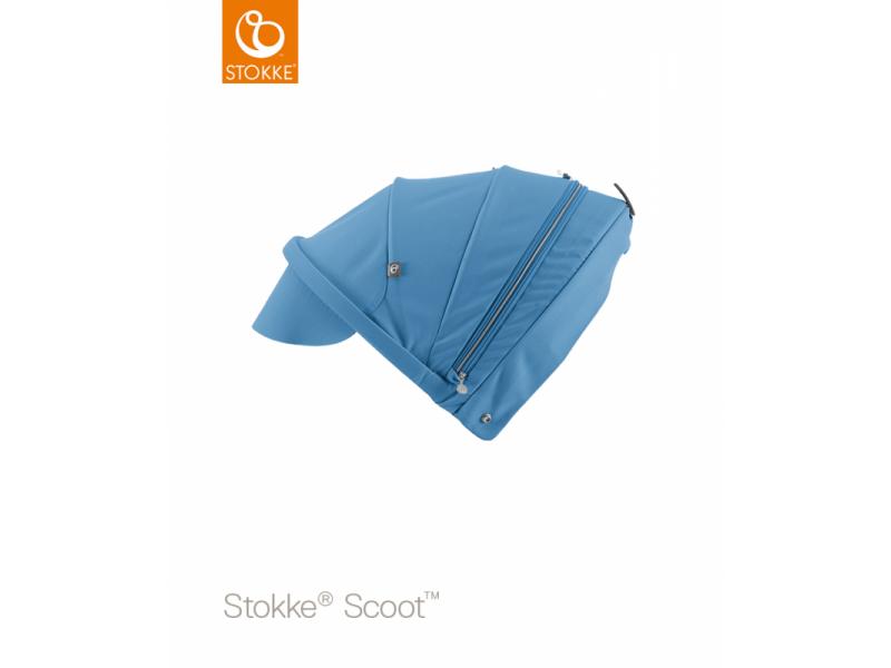 Stokke Stříška na kočárek a korbu Scoot™, Blue
