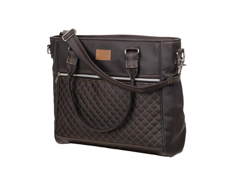 Emmaljunga Taška na rukojeť Exclusive Espresso Leatherette