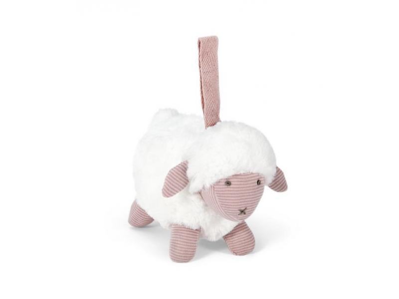 Závěsná ovečka růžová 1