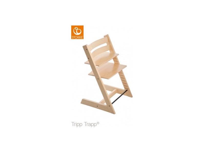 "Židlička Tripp Trapp® dub - White Natural ""Oak Natural"" 1"