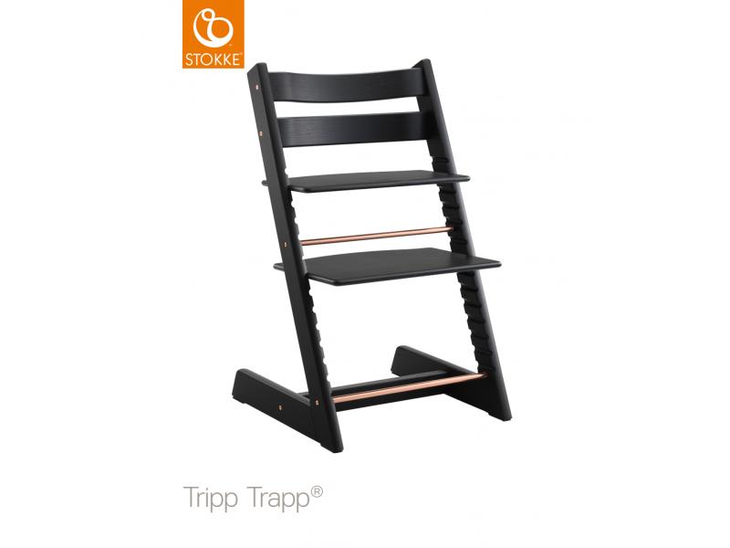 Stokke Židlička Tripp Trapp® dub - Black