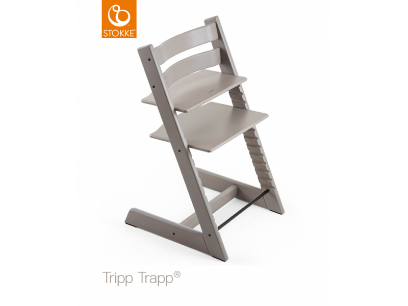"""Židlička Tripp Trapp® dub - Greywash """"Oak Greywash"""" 1"""