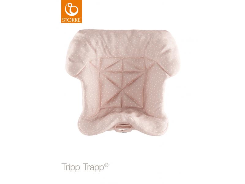 Stokke Polstrování baby k židličce Tripp Trapp® - Pink Bee (Organic Cotton)