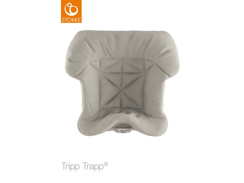 Stokke Polstrování baby k židličce Tripp Trapp® - Timeless Grey (Organic Cotton)