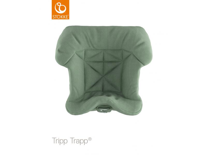 Stokke Polstrování baby k židličce Tripp Trapp® - Timeless Green (Organic Cotton)