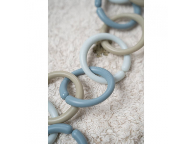 Spojovací kroužky řetěz BLUE 1