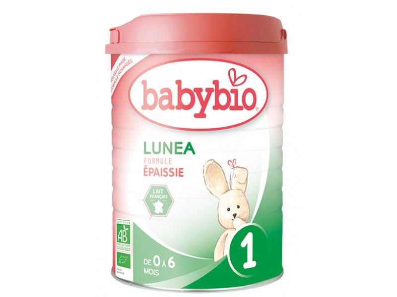 BabyBio Lunea 1 počáteční mléčná kojenecká výživa v prášku