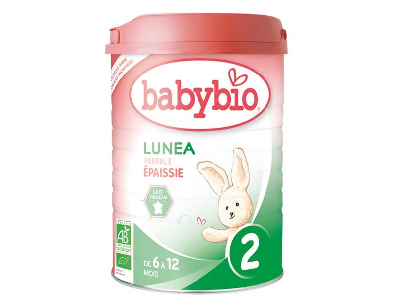 BabyBio Lunea 2 pokračovací mléčná kojenecká výživa v prášku