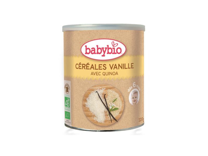 nemléčná rýžovoquinoová kaše s vanilkou 220g 1