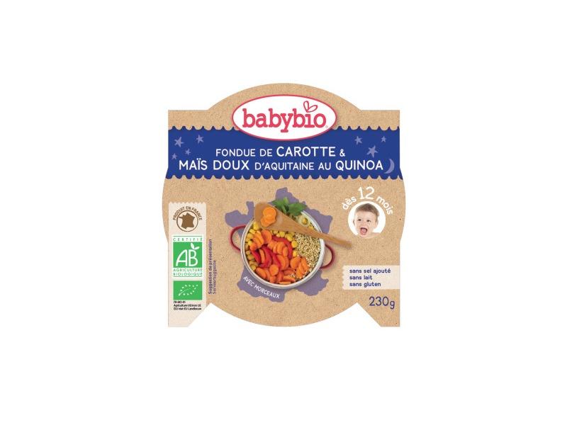 večerní menu mrkev a sladká kukuřice s quinoa 230g 1