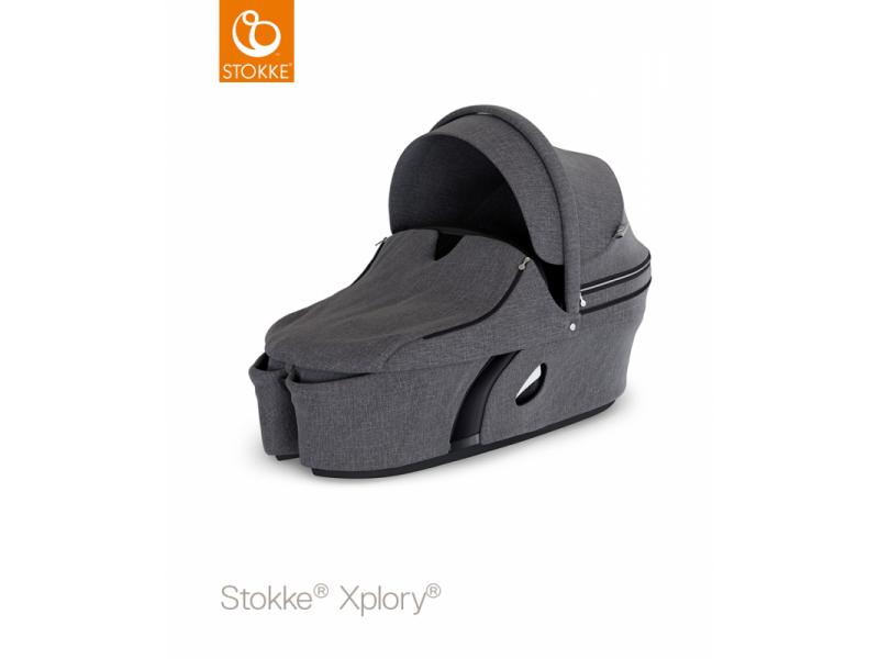 Stokke Korba na kočárek Xplory® V6, Black Melange
