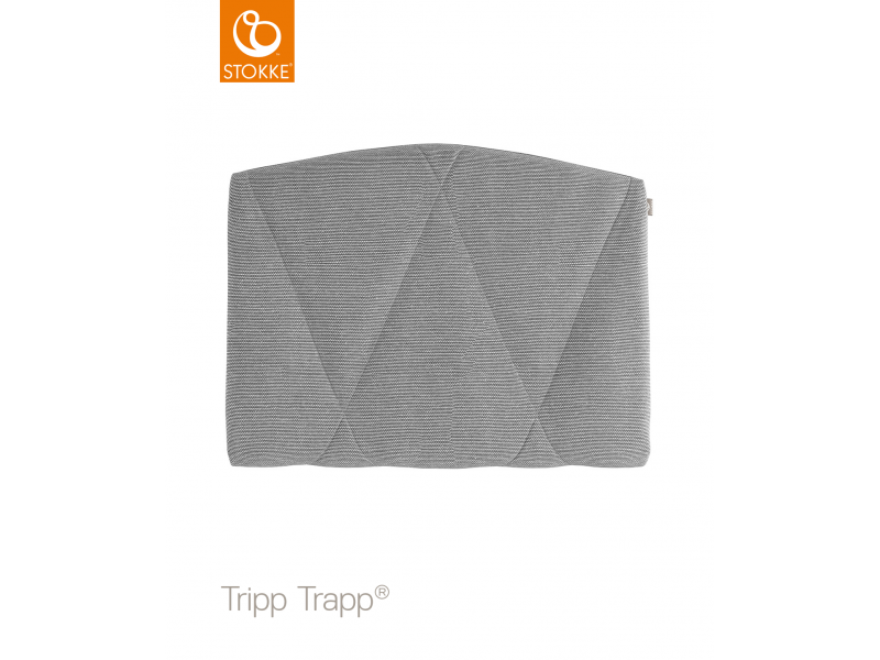 Stokke Polstrování adult k židličce Tripp Trapp® - Slate Twill