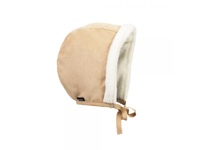 Zimní čepeček pro miminka Alcantara 6-12m 1