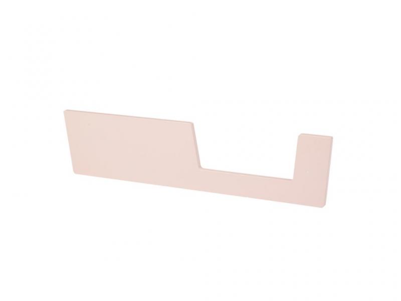 DONE BY DEER Zábrana k postýlce 120x60 cm - růžová