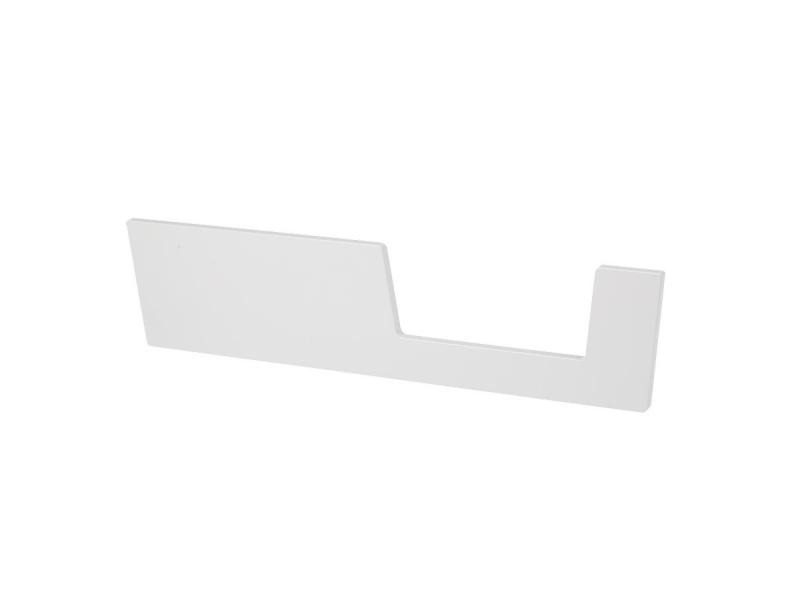 Zábrana k postýlce 120x60 cm - šedá 1