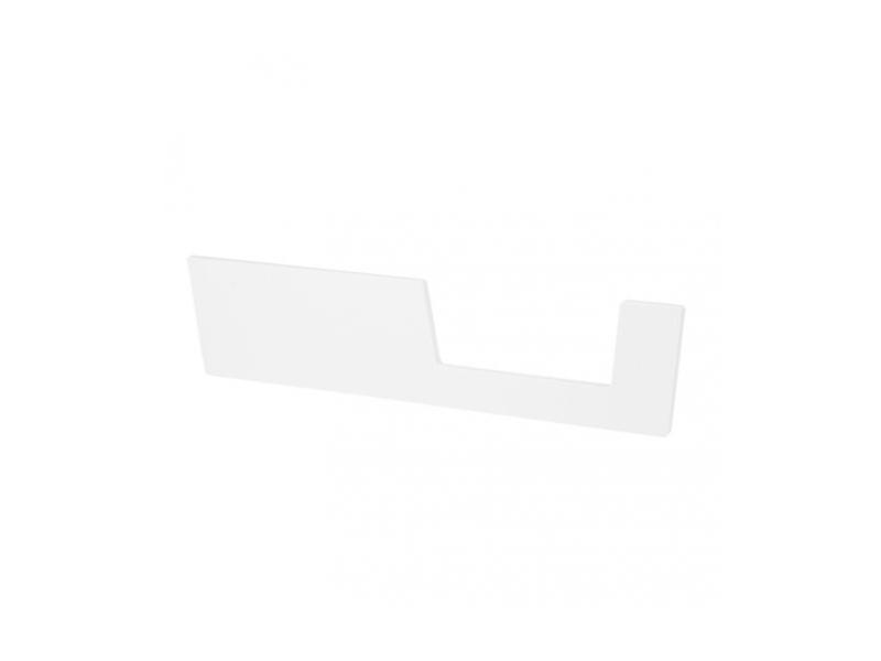 Zábrana k postýlce 140x70cm - bílá 1
