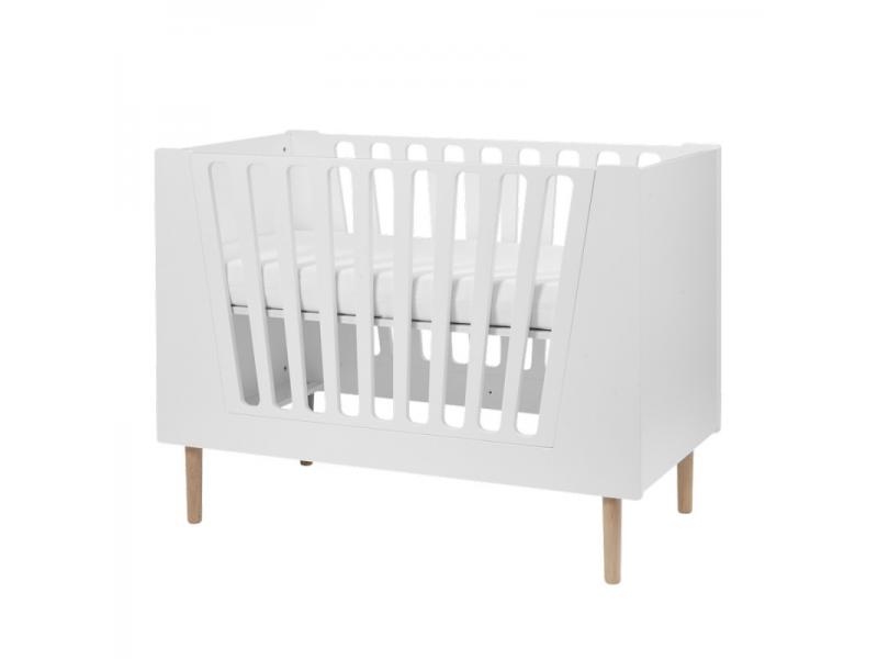 Dětská postýlka 120x60 cm - bílá 1