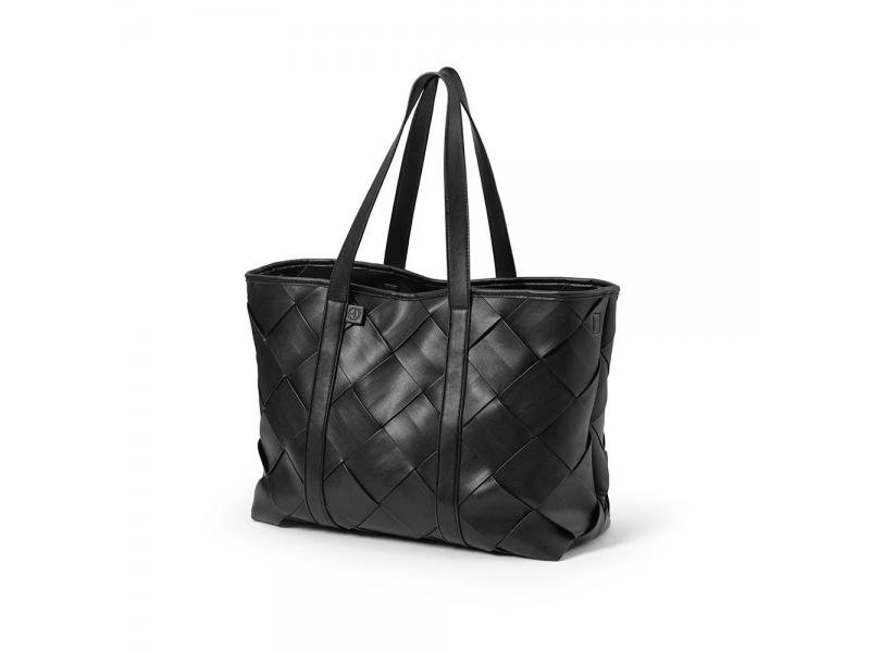 Přebalovací taška Tote Braided Leather 1