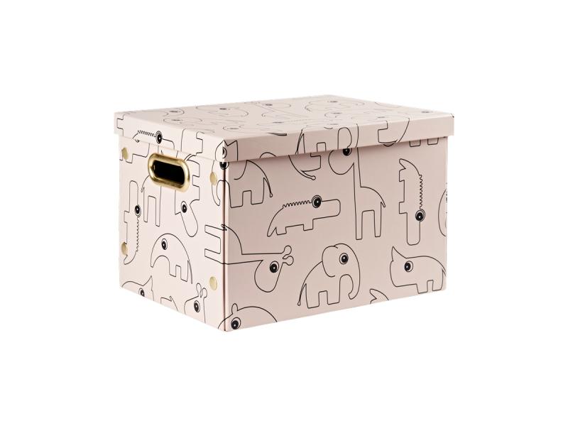 ÚLOŽNÝ BOX CONTOUR - RŮŽOVÝ 1