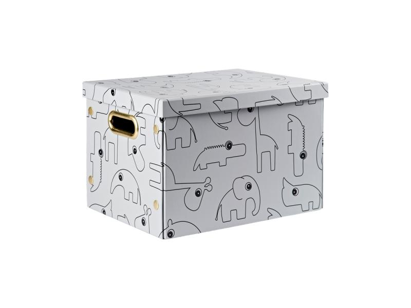 ÚLOŽNÝ BOX CONTOUR - ŠEDÝ 1