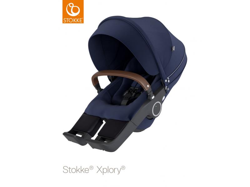 Stokke Sedák na kočárky Xplory® V6, Trailz™ - Deep Blue