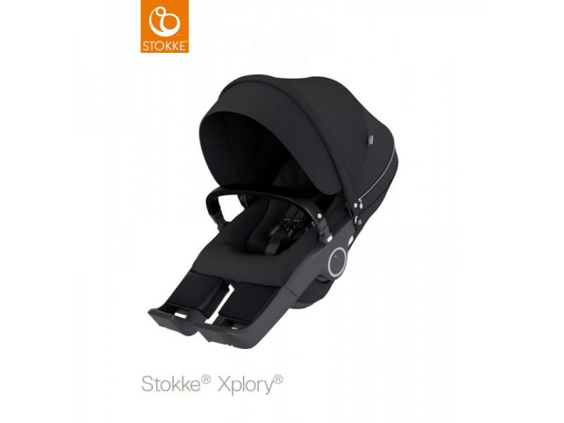 Stokke Sedák na kočárky Xplory® V6, Trailz™ - Black